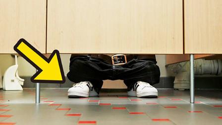 為什么公廁的門都會空一截?8個你忽略了的冷知識