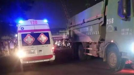 不忍直视!南宁一货车与电动车相撞 致使电动车2人当场死亡