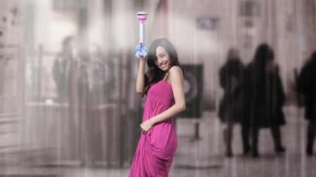 """令国人自豪!中国小伙发明""""空气雨伞"""",打开后全世界竖起大拇指"""