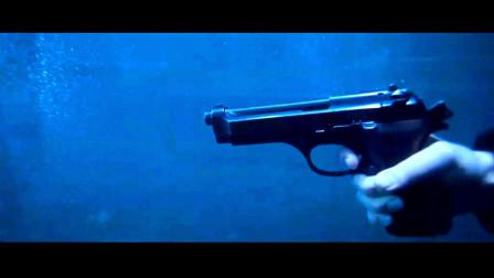 为什么在水下开枪打不到人?因为子弹在水里会拐弯,太神奇了