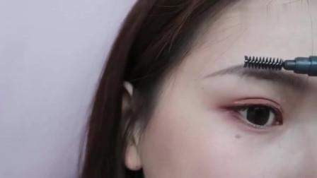 新手必看,画眉教程分享,两种自然好看的眉形简单易学