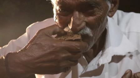 """印度大叔户外用另类""""烤箱""""烤巧克力蛋糕?这做法还真头一回见"""