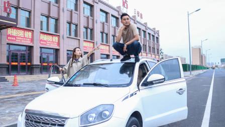 小伙给美女当代驾,上车就跟美女抬杠,太有趣了