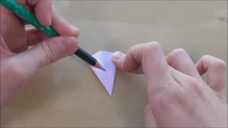 手工折纸,用纸做一个雪花圣诞装饰自己做面包