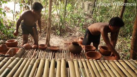 荒野生存建造木屋野外求生系列