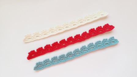 钩针编织 我们需要一款温柔的蕾丝带 给成品注入情愫