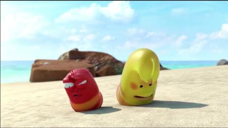 爆笑虫子:外星来的小螃蟹被吃了,高科技也不行