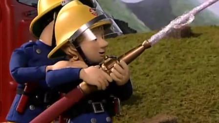 消防员山姆:孩子们被成功救了出来,大家都很感谢诺曼