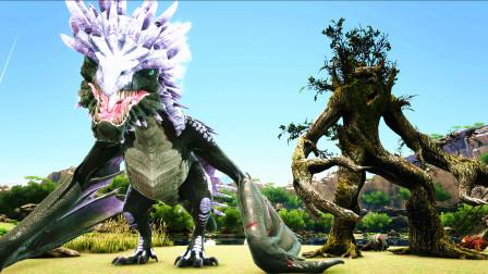 【虾米】方舟:神话演变EP6,丛林中发现一只小树人,奶爸的一天