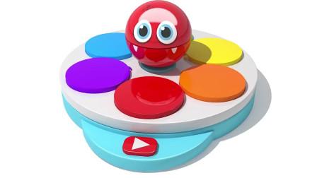 奥利奥卡通饼干音乐视频,妈妈可以带孩子一起学习形状、颜色英语