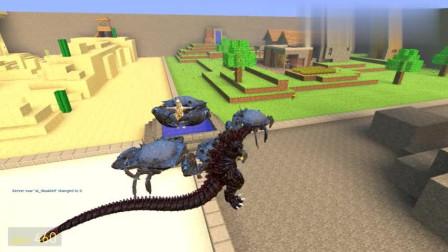 GMOD游戏犀牛怪兽的实力连螃蟹都打不过吗?