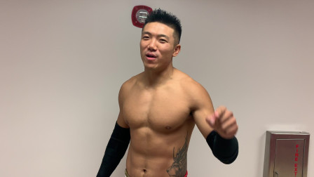 WWE NXT代托纳现场秀 中国之星Boa王彦博赛前叫板对手