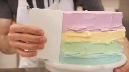好吃又好看的彩虹蛋糕!你还不快学起来!