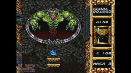 猴子_爱儿双人实况解说《恶魔波子机(DEVILISH)》(上期):双人同屏弹珠游戏