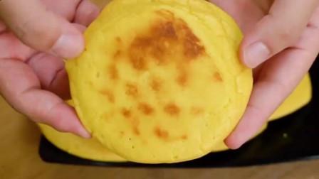 鸡蛋玉米饼的做法,粗粮细作,适合老人和小孩吃!