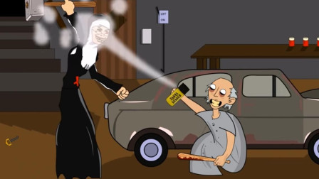 恐怖奶奶的智商有多高?不仅会给修女设陷阱,还会使用道具