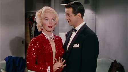 绅士爱美人:梦露猜到眼镜男要送她礼物,不愧是女人,瞬间订婚