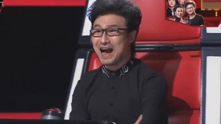 汪峰做梦都没想到,流浪歌手演唱他的歌把他超越了,阿妹也不淡定