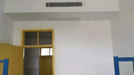 学校水泥一捏就碎后续:学生住进新宿舍 还安装中央空调