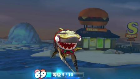 饥饿鲨世界: 体型最小的鲨鱼伯爵鲨看起来有点小可爱