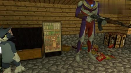 杰瑞鼠犯什么错了?奥特曼要把它关在冰箱里