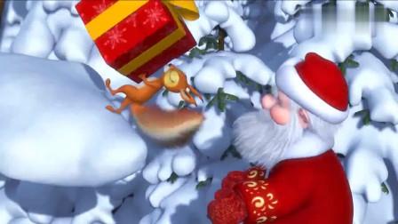 玛莎和熊:熊熊出来寻找圣诞树,玛莎的恶作剧,圣诞老人受伤了