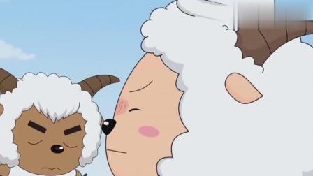 喜羊羊:懒羊羊刚说完苹果掉不下来,就悲惨了