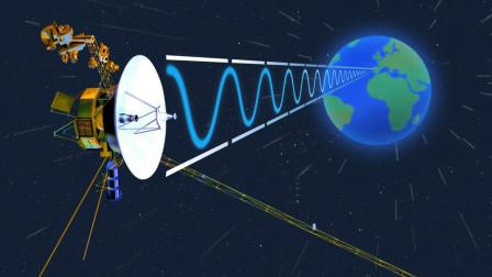 旅行者一号飞出地球219亿公里,是如何与地球进行数据传输的?