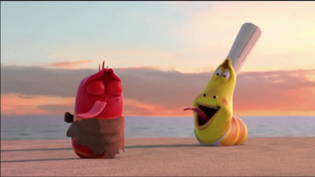 爆笑虫子:红虫嚼过吐出来的海带渣,被大家吃光光了
