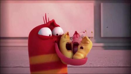 爆笑虫子:黄虫一胎生了六个娃,用爱做的玫瑰就是香