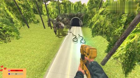 GMOD游戏怪虫和蟒蛇在一起会打架吗?