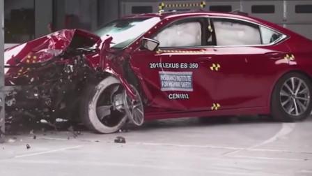 最安全的五款中大型轿车,实打实碰撞测试,没毛病。