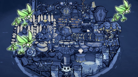 【饥荒】船上的萤火虫会随着船飞吗?