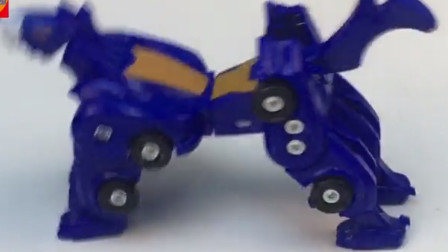 变形玩具分享 猎车兽魂啸冰飞车