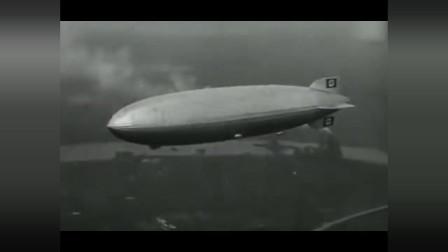 """珍贵影像:1937年""""兴登堡""""号飞艇空难现场记录, 真惨啊!"""