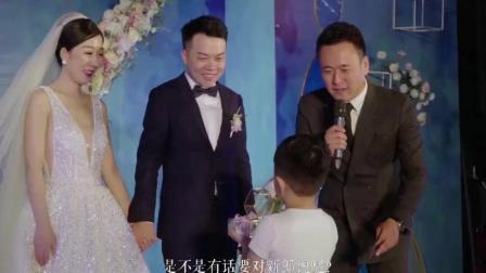 有这么坚实的后盾, 新娘一定不用怕婚后受气