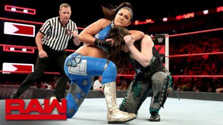 【RAW 08/26】贝莉招牌肘击霸气拿下妮琪