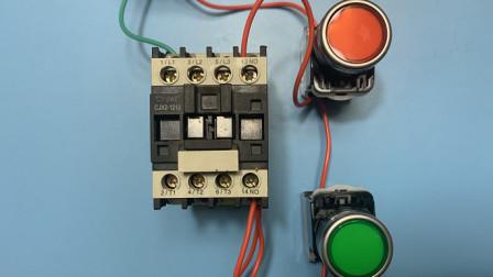 电工知识:接触器不会接线怎么办?接触器自锁接线步骤一一讲解