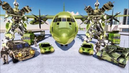 机器人模拟器:坦克变形金刚,造型好拉风