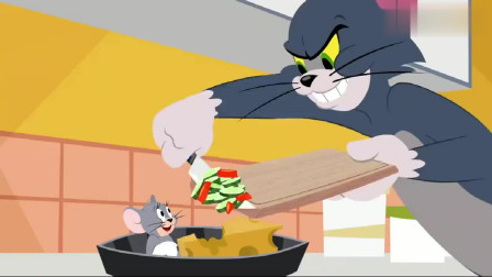 猫和老鼠:汤姆把小灰鼠进了烤箱,知道的它立马怒了!
