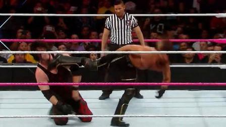 wwe凯恩 WWE技术流赛斯就是强 即使是恶魔凯恩 也被打的摇摇欲坠
