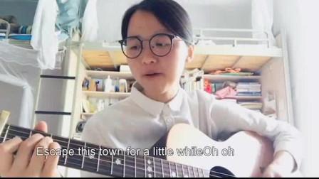 美女宿舍吉他弹唱《Love Story》好听到哭