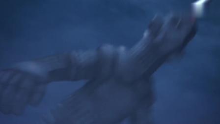 赛罗奥特曼:赛文奥特曼好厉害,不能变身,也能爆打厉害怪兽!