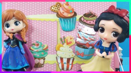 小公主的趣味蛋糕店:DIY趣味磁力片小蛋糕