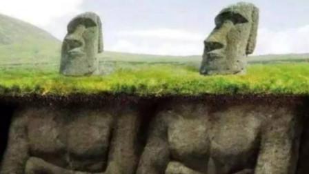 岛上发现160座神秘雕像,挖开地下发现奇观,这埋得都是啥?