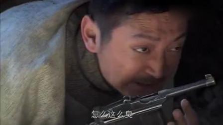 日军精锐骑兵团被大当家围困崖底,高手点燃炸药往下推,打残敌人