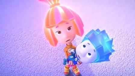 螺丝钉:吉姆得到了一个大魔杖,把螺丝钉变得超级大,妈妈都吓晕了!