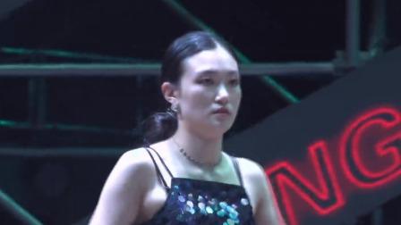 两位小姐姐PK展现自我,跳舞是一种享受 2019KOD 国际街舞嘉年华 (WAACKING) 20190822
