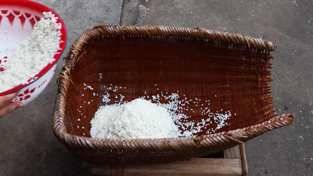 教你在家做米酒, 酒酿, 醪糟, 米酒蒸鸡蛋, 自己酿的米酒就是香