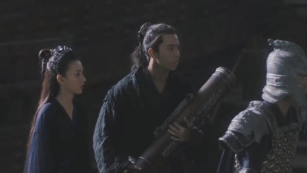 """《九州缥缈录》姬野保护羽然,一句""""站这别动"""",帅呆了!"""